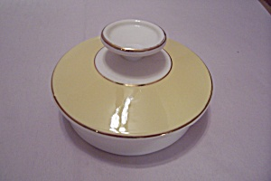 Century Service Autumn Gold Pattern Sugar Bowl Lid