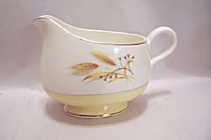Century Service Autumn Gold Pattern China Creamer