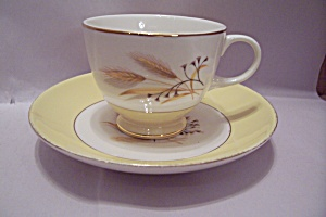 Century Service Autumn Gold Pattern Cup & Saucer Set