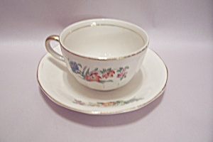 The Crescent China Cup & Saucer Set