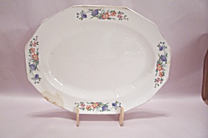 The Crescent China Oval Platter