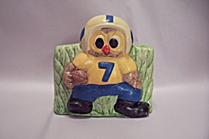 Landmark Designs Porcelain Football Player Planter