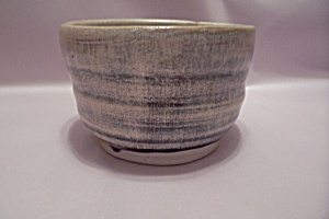 Multi-color Hand Thrown Art Pottery Bowl