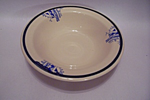 Art Deco Decorated China Cereal Bowl