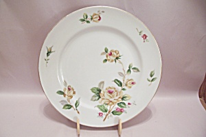 Lynmore Golden Rose Pattern China Dinner Plate