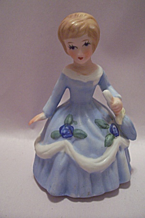 Lefton Porcelain Young Lady Figurine