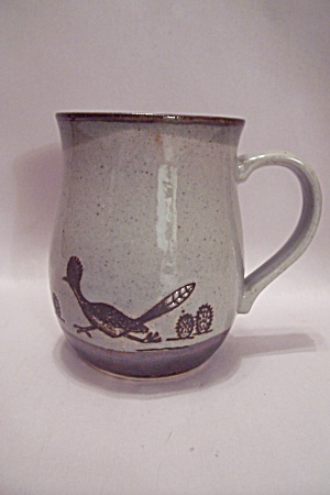 Roadrunner Art Pottery Mug