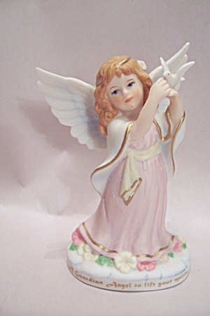 Bronson Collectibles Heavenly Guardians Porcelain Angel