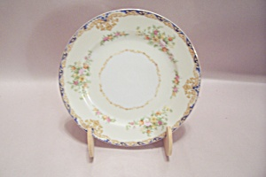Noritake China Floral Decorated Bread Butter Plate