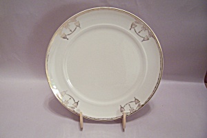 Salem Commodore Pattern China Luncheon Plate