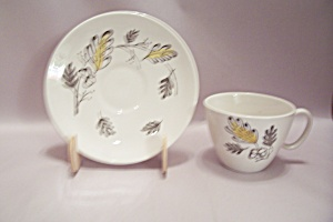 Royal China Autumn Winds Pattern Cup & Saucer Set