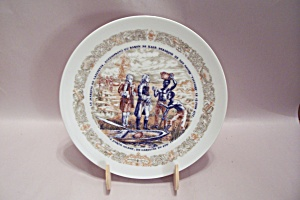 French Limoges Assiette Collector Plate