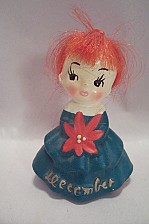 Porcelain Birthday Doll For December
