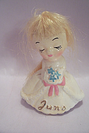 Porcelain June Birthday Doll