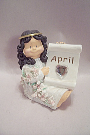 April Birthday Doll With Birthstone