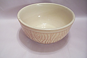 Light Brown Glazed Crock Bowl
