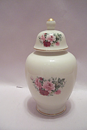 Formalities Porcelain Flower Decorated Ginger Jar
