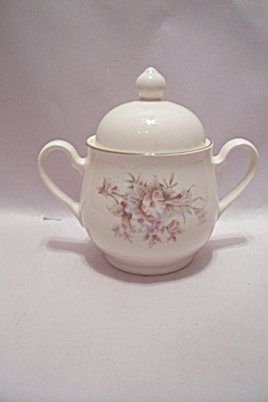 Noritake Keltcraft Yesterday Pattern China Sugar Bowl