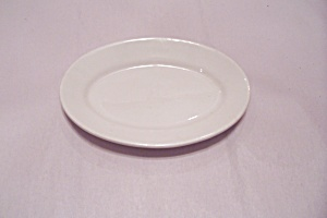 Homer Laughlin Best China White Oval Platter (Image1)