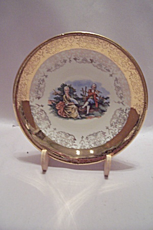 Crest-o-gold Hand Painted Collector Plate