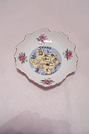 Texas Souvenir Collector Dish
