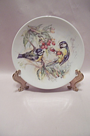 Royal Worcester Fine Porcelain Bird Collector Plate
