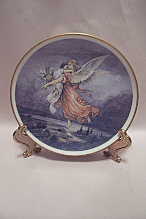 German Angel Collector Plate