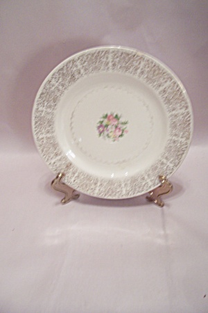 Homer Laughlin Gold Lace China Dinner Plate
