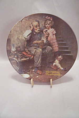Norman Rockwell - The Cobbler Collector Plate