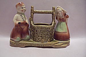 Shawnee Pottery Dutch Wishing Well Planter
