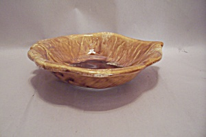 Wade Of California Leaf Shaped Pottery Dish