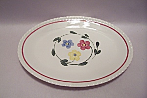 Hand Painted China Oval Platter