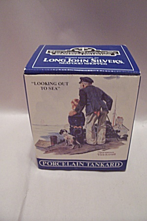 Norman Rockwell's Looking Out To Sea Porcelain Mug