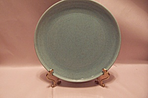 Laurel Potteries Holiday Turquoise Dinner Plate