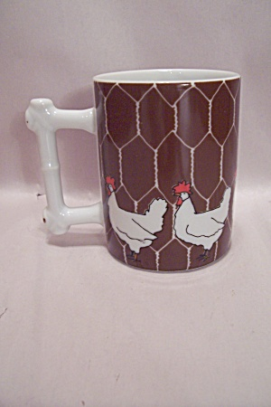 Dennis Kyte China Chicken Mug