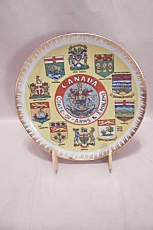 Canada Souvenir Hand Painted Fine China Collector Plate