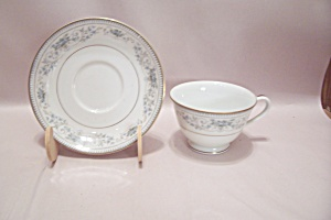 Noritake Noble Pattern Fine China Cup & Saucer Set