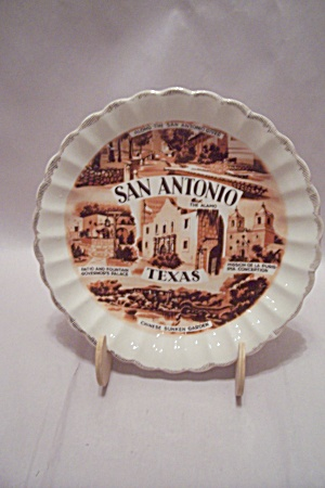 San Antonio, Texas Souvenir Collector Plate