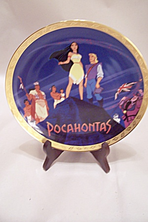 Walt Disney Pocahontas Collector Plate