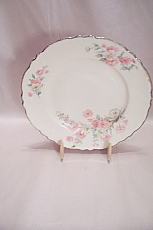 Homer Laughlin Virginia Rose Pattern Dinner Plate