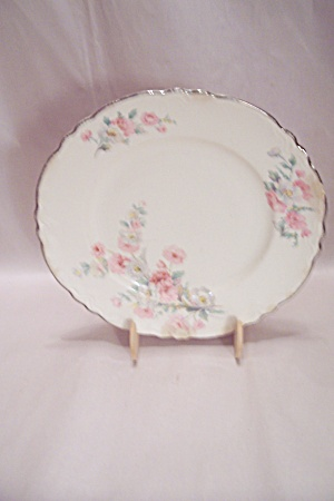 Homer Laughlin Virginia Rose Pattern China Dinner Plate