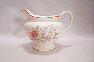 Sears & Roebuck Poppy China Creamer