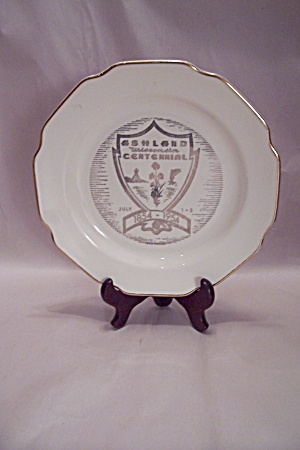 Ashland, Wisconsin Centennial Collector Plate