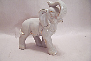 Occupied Japan Small Elephant Figurine