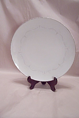 Noritake Whitebrook Fine China Dinner Plate