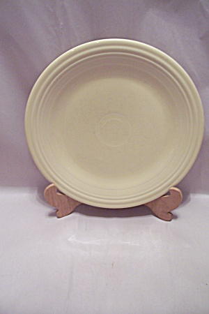 Homer Laughlin Fiesta Ware White 0100 Dinner Plate
