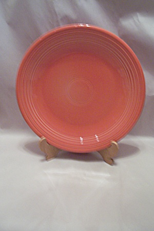 Homer Laughlin Fiesta Ware Persimmon 0114 Chop Plate