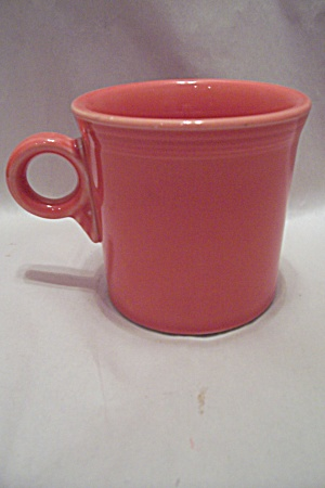 Homer Laughlin Fiesta Ware China Persimmon 0114 Mug