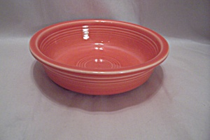 Homer Laughlin Fiesta Ware Persimmon Coupe Soup Bowl