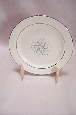 Fine China Silver Trimmed Bread & Butter Plate